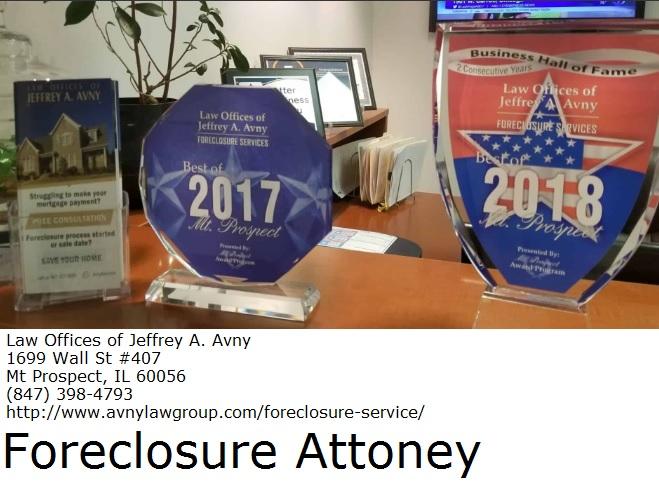 Foreclosure Help Schaumburg